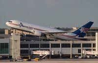 N743AX @ MIA - Amerijet 767-200