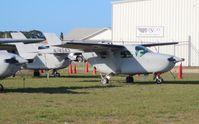 N745AS @ TIX - Cessna O-2 - by Florida Metal