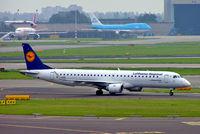 D-AEBC @ EHAM - Embraer Emb_195-200LR [19000320] (Lufthansa Regional) Amsterdam-Schiphol~PH 08/08/2014 - by Ray Barber