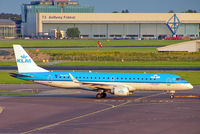 PH-EZS @ EHAM - Embraer Emb-195-100LR [19000380] (KLM cityhopper) Amsterdam-Schiphol~PH 07/08/2014 - by Ray Barber