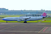 B-18807 @ EHAM - Airbus A340-313X [541] (China Airlines) Amsterdam-Schiphol~PH 08/08/2014 - by Ray Barber