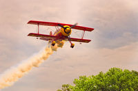 UNKNOWN @ 3M0 - Pitts Special Flyby Gaston's Airport - by Jim Gaston
