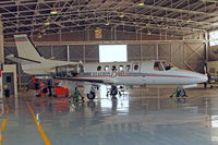 D2-ECE @ FALA - Cessna Citation Bravo [550-1008] Lanseria~ZS 16/09/2014. Engine covers removed with registration on.