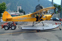 I-BUFF @ LILY - Piper PA-18-150 Super Cub [1809008] Como~I 19/07/2004 - by Ray Barber