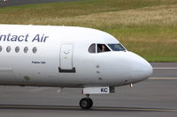 D-AFKC @ EDDL - Nice Pilot ! ! ! - by Air-Micha