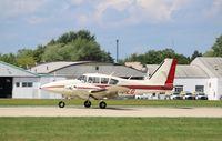 N31EG @ KOSH - Piper PA-23-250 - by Mark Pasqualino