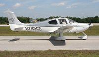 N789CD @ LAL - Cirrus SR22 - by Florida Metal