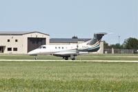N342FL @ KCID - Arriving runway 31