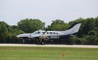 N514LP @ KOSH - Cessna 414