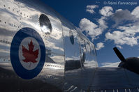 C-GOJW @ CYXJ - Static display at Fort St. John International Airshow - by Remi Farvacque