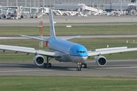 F-WWYC @ LFBO - Airbus A330-303, Taxiing after landing Rwy 32L, Toulouse Blagnac Airport (LFBO-TLS) - by Yves-Q