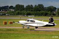 C-GPNA @ EGPH - Taxy to take-off from rwy 06 at Edinburgh EGPH. - by Clive Pattle