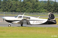 C-GPNA @ EGPH - Taxy to take-off from rwy 06 at Edinburgh EGPH - note the friendly wave ! - by Clive Pattle