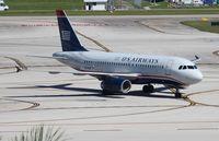 N804AW @ FLL - USAirways A319