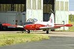 G-BWSG @ EGNX - G-BWSG (XW324), 1970 BAC 84 Jet Provost T.5, c/n: EEP/JP/988 at East Midlands