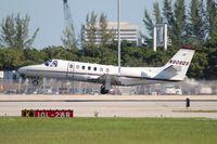 N808QS @ PBI - Net Jets