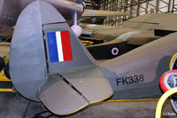 FK338 @ EGYK - On display at the Yorkshire Air Museum EGYK - by Clive Pattle