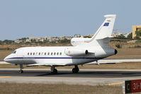MM62244 @ LMML - Dassault Falcon 900EX MM62244 Italian Air Force - by Raymond Zammit