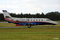 D-CGAA @ EGPH - Taxy to the ramp at Edinburgh EGPH - by Clive Pattle
