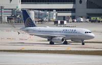 N816UA @ MIA - United A319