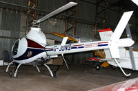G-JONG @ EGBG - Hangared at Leicester EGBG - by Clive Pattle