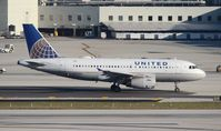 N823UA @ MIA - United - by Florida Metal