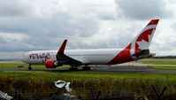C-GHPE @ EGCC - At Manchester - by Guitarist