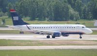 N829MD @ DTW - USAirways Express