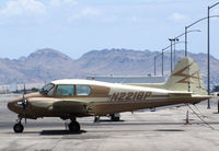 N2218P @ KVGT - Approaching her 60th birthday - 1956 PA-23 registered to Shong Mai International Inc. (Lake Elsinore. CA) @ North Las Vegas Airport, NV - by Steve Nation