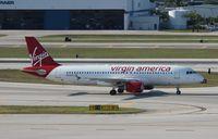 N835VA @ FLL - Virgin America