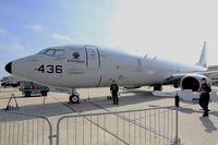 168436 @ LFPB - Boeing P-8A Poseidon, Static display, Paris-Le Bourget (LFPB-LBG) Air show 2015 - by Yves-Q