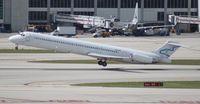 N836NK @ MIA - Falcon MD-83