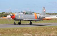 N842JM @ TIX - Pilatus P3 - by Florida Metal