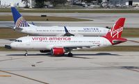 N845VA @ FLL - Virgin America