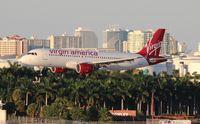 N847VA @ FLL - Virgin America