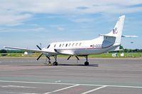 D-CCCC @ EGMC - Merlin IV, BinAir, City of Flensburg, Kassel based, previously N3108F, N600L, N600N, seen parked up. - by Derek Flewin