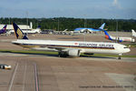 9V-SWB @ EGCC - Singapore Airlines - by Chris Hall