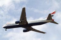G-BZHC @ EGLL - Boeing 767-336ER [29232] (British Airways) Heathrow~G 11/07/2015. On approach 27R.