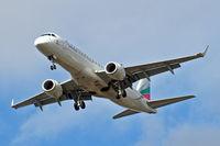 LZ-PLO @ EGLL - Embraer Emb-190-100AR [19000584] (Bulgaria Air) Home~G 07/07/2015. On approach 27R.