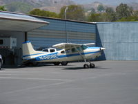 N4809E @ SZP - 1980 Cessna 180K SKYWAGON, Continental O-470-U 230 Hp - by Doug Robertson