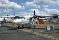 C-FMJO @ EGLF - Twin Otter on Fboro static display - by Jetops1