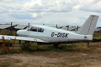 G-DISK @ EGBG - Relegated to the dump area at Turweston EGBG - by Clive Pattle