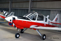 G-GGRR @ EGBT - Hangared at Turweston Aerodrome EGBT looking immaculate after a recent respray. - by Clive Pattle