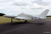 N4173T @ EGBT - Parked up at Turweston Aerodrome EGBT - by Clive Pattle