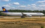 D-AIHU @ EDDF - departure via RW18W - by Friedrich Becker