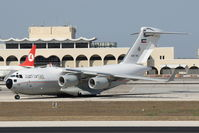 KAF342 @ LMML - Boeng C-17A GlobemasterIII KAF342 Kuwait Air Force - by Raymond Zammit