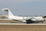 KAF342 @ LMML - Boeing C-17A GlobemasterIII KAF342 Kuwair Air Force - by Raymond Zammit