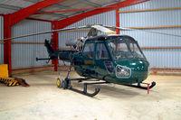 G-BYKJ @ EGTW - Westland Scout AH.1 [F.9696] Oaksey Park~G 17/03/2004
