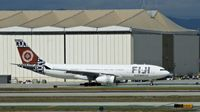 DQ-FJU @ KLAX - Fiji Airways, is here taxiing to the gate at Los Angeles Int'l(KLAX) - by A. Gendorf