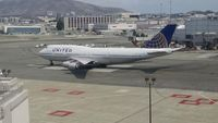 UNKNOWN @ KSFO - United B747 Taxi SFO - used by permission of Robert Norville